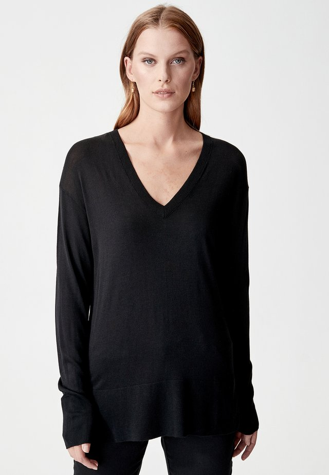 ALLISION - Pullover - black