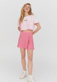PULL&BEAR - Áčková sukně - rose - 1