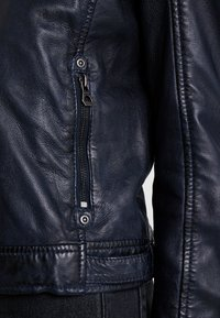 Gipsy - ANGY LAMAS - Leather jacket - dark navy - 7