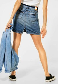 Street One - Pencil skirt - blau - 2