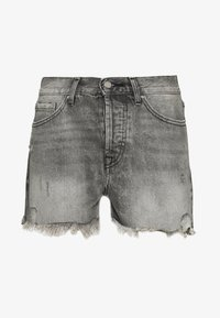 ONLY - ONLFINE LIFE  - Denim shorts - grey denim - 0