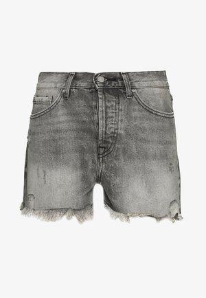ONLFINE LIFE  - Shorts di jeans - grey denim