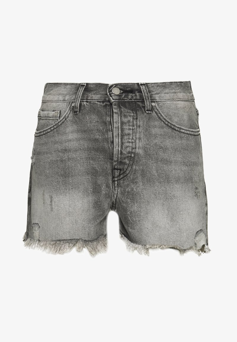 ONLY - ONLFINE LIFE  - Denim shorts - grey denim