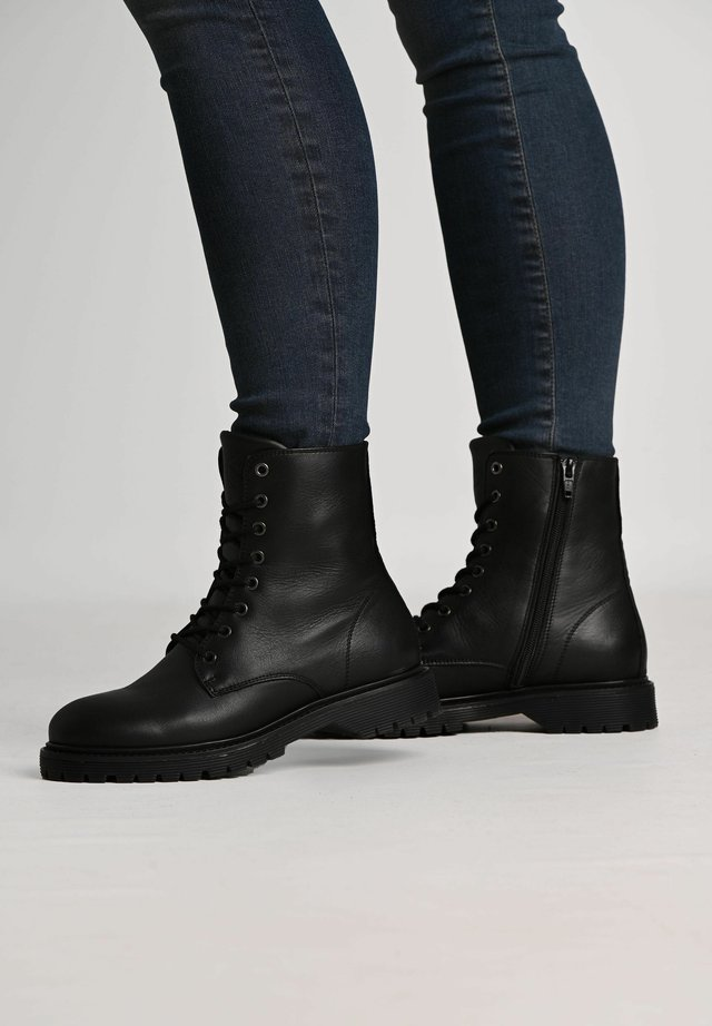 SUNNY  - Lace-up ankle boots - black