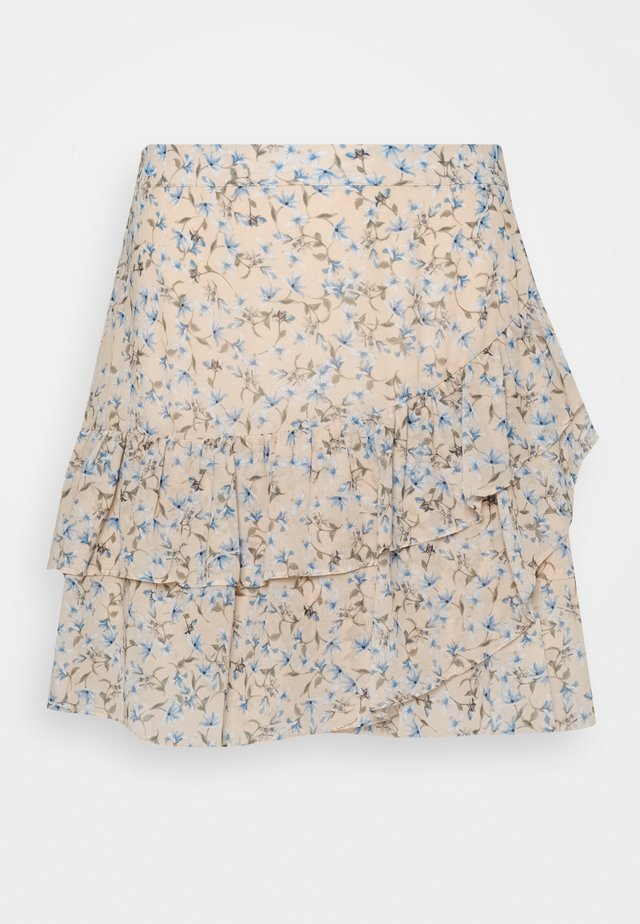 ANNABELLE RUCHED SKIRT - A-line skjørt - cornflower fields