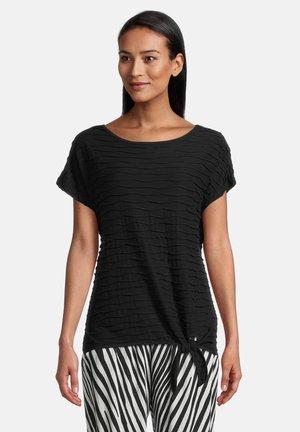 T-shirt basique - schwarz