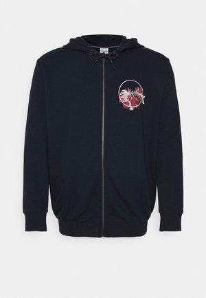 JORCALIFLOMAX ZIP HOOD - Zip-up sweatshirt - navy blazer