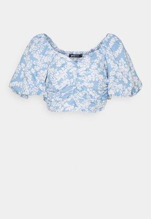 LEAH - Print T-shirt - blue spot