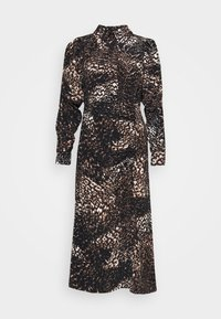 ANIMAL RUCH - Maxi dress - brown