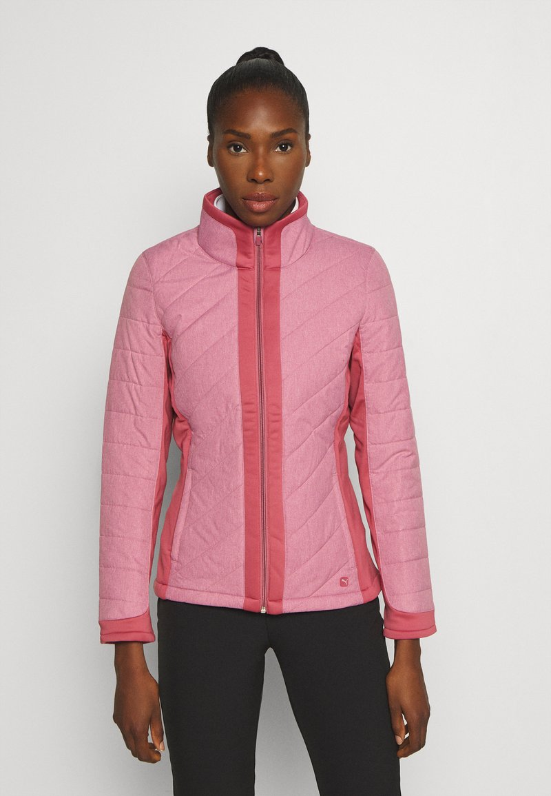 Puma Golf - JACKET - Outdoor jacket - rose wine