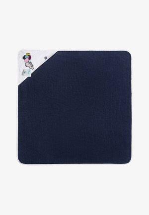 Bath towel - dark blue/bear