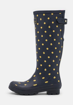 WELLY PRINT - Wellies - navy