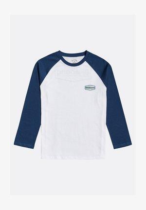 MONTANA - Long sleeved top - denim blue