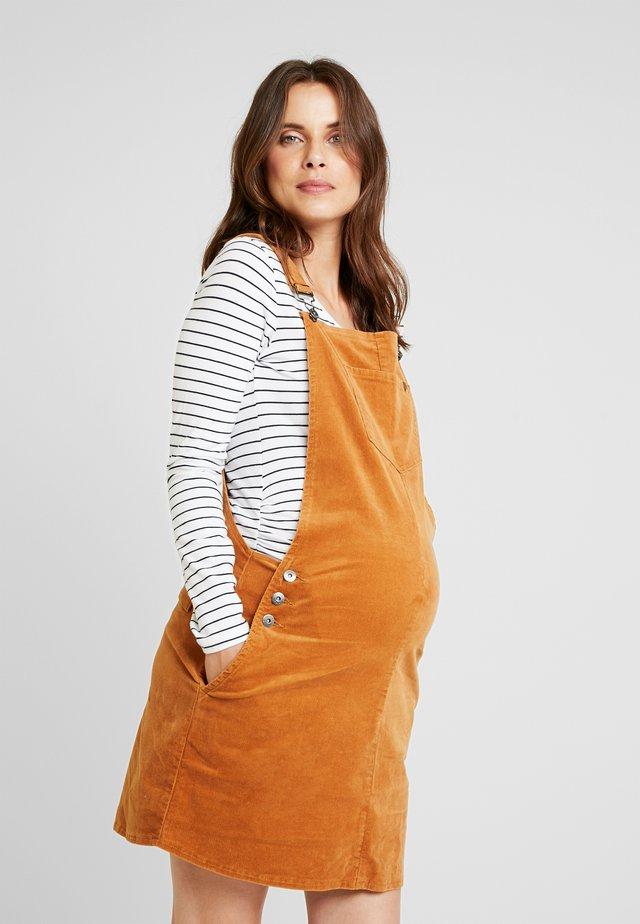 PINAFORE - Vestido informal - brown