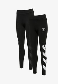 Hummel - Leggings - black/black - 0