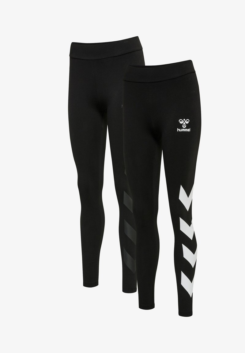 Hummel - Leggings - black/black
