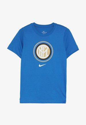 INTER MAILAND TEE EVERGREEN CREST - Klubové oblečení - blue spark