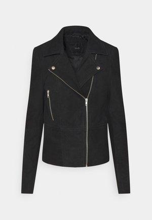 YASSOPHIE JACKET - Leather jacket - black