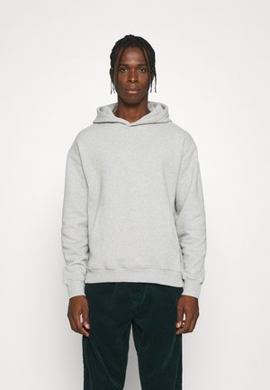 ESSENTIAL OVERSIZED HOODIE - Sweatshirt - grey marl