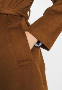 Sand Copenhagen - COAT CLARETA BELT - Classic coat - brown - 6