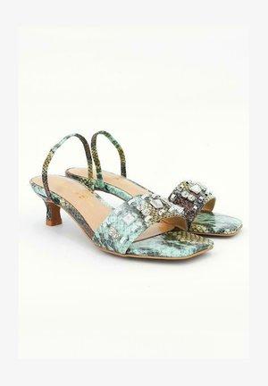 BIANCA - Sandals - green