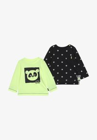 Staccato - 2 PACK - T-shirt à manches longues - neon yellow/black - 4