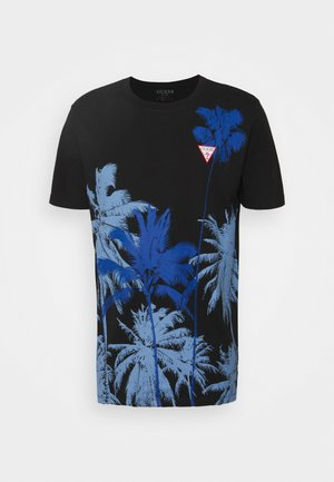 WINDSWELL TEE - T-shirt con stampa - jet black