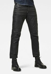 G-Star - 5620 3D ORIGNAL RELAXED TAPERED MERCHANT - Relaxed fit jeans - waxed black cobler - 0