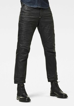 5620 3D ORIGNAL RELAXED TAPERED MERCHANT - Relaxed fit jeans - waxed black cobler