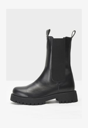 Bottines à plateau - black blk