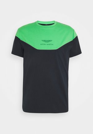 MULTI TEE - T-shirt print - green/navy