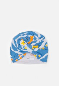 Never Fully Dressed Kids - AQUA ZEBRA PRINT TURBAN - Beanie - multicoloured - 0