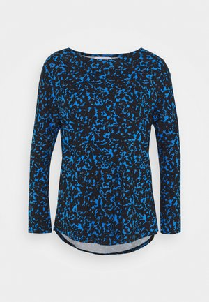SMUDGE DOLMAN - Long sleeved top - blue