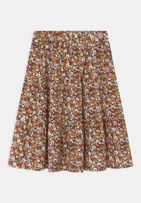 Name it - NKFHISSINE MIDI  - A-line skirt - ivy green - 1
