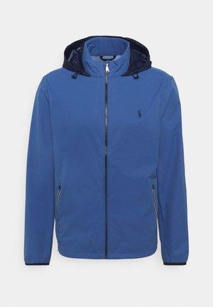 HOOD ANORAK JACKET - Outdoor jacket - bastille blue