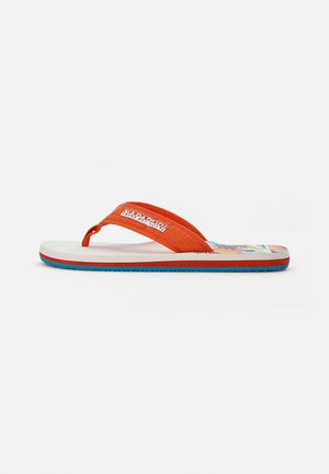 T-bar sandals - spicy orange