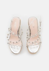 BEBO - VILLA - Platform sandals - clear - 5