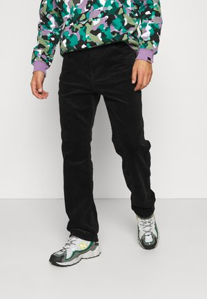 SPACE TROUSERS - Pantalones - black