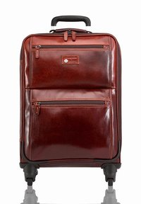 Jekyll & Hide - OXFORD - Wheeled suitcase - tobacco - 2