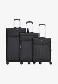 Hardware - 3 PACK - Luggage set - black - 0