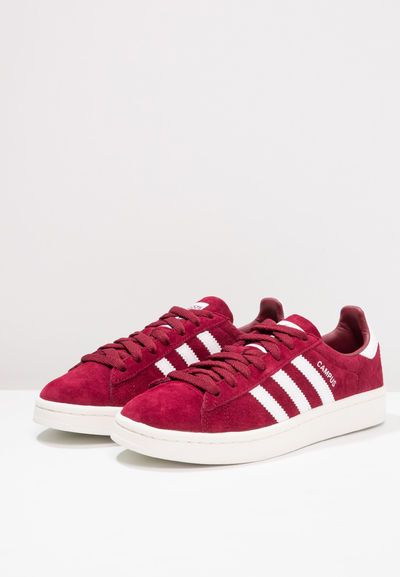 Geringster Preis adidas Originals CAMPUS - Sneaker low - collegiate burgundy/footwear white/chalk white | Damenbekleidung 2020