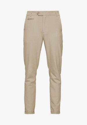 COMO LIGHT SUIT PANTS - Suit trousers - light brown insence