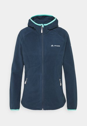 ROSEMOOR HOODED JACKET - Fleece jacket - steelblue