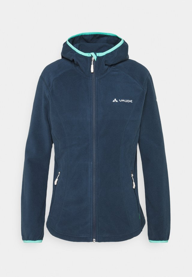 ROSEMOOR HOODED JACKET - Fleecetakki - steelblue