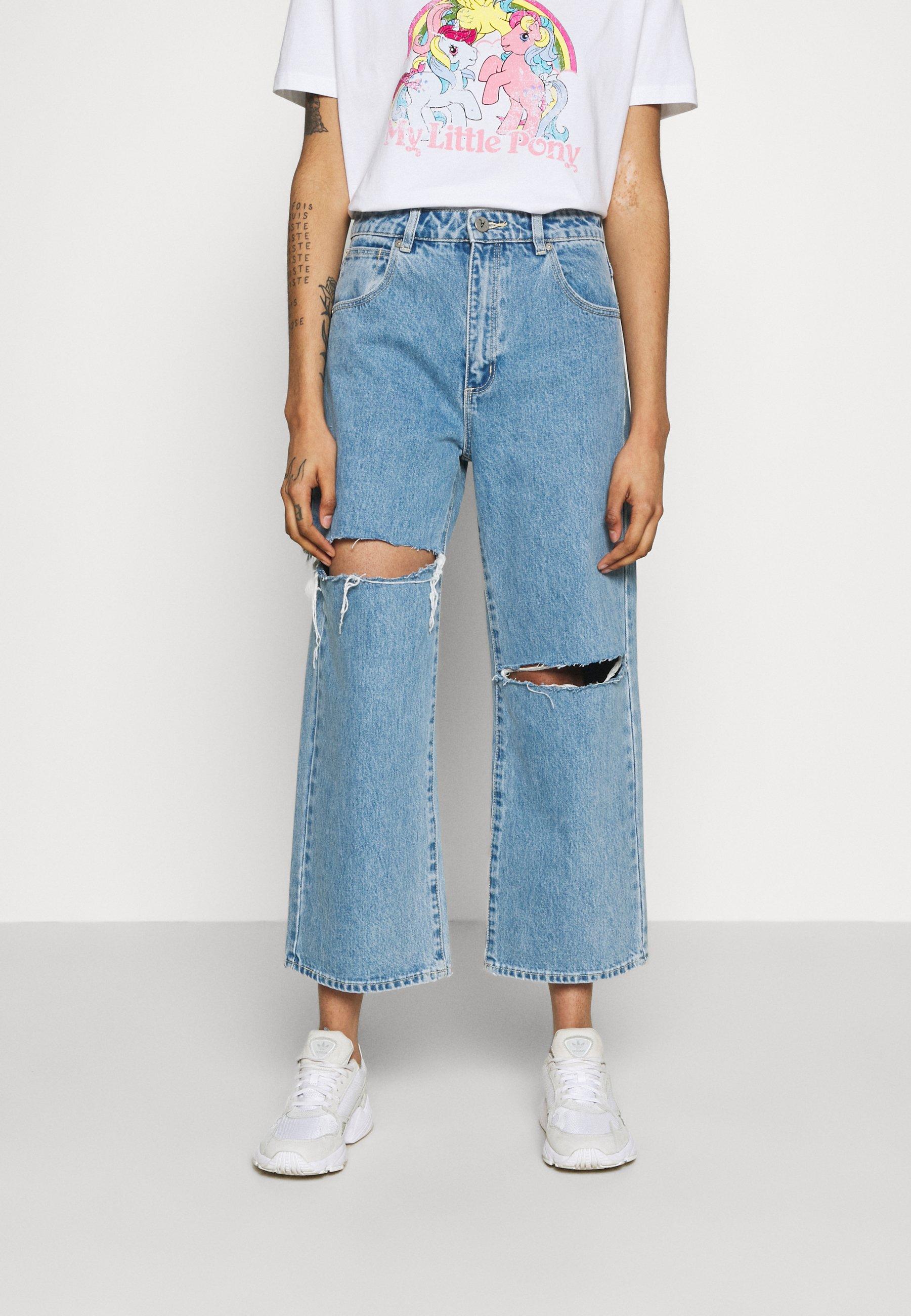 Women A STREET ALINE - Straight leg jeans