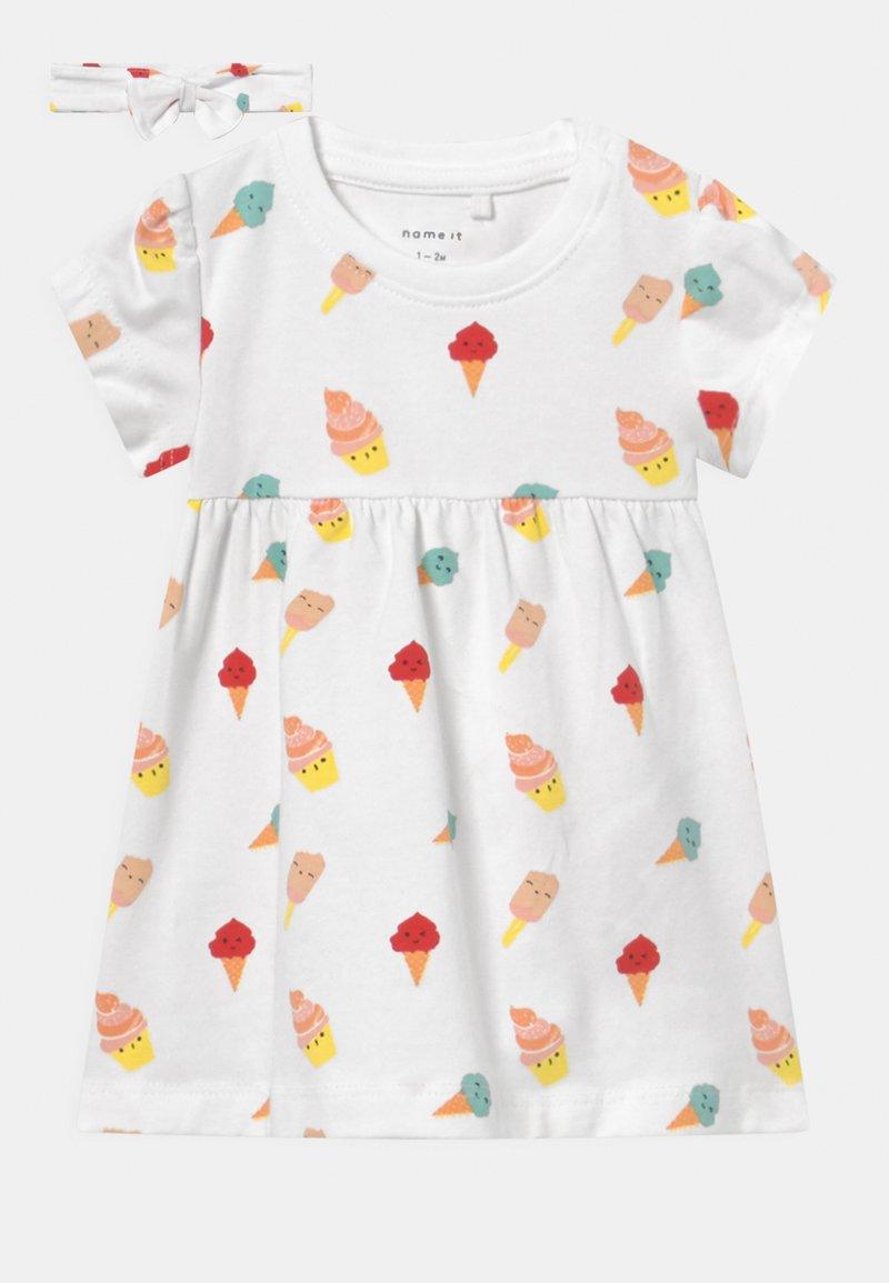 Name it - NBFJILLY - Jersey dress - bright white