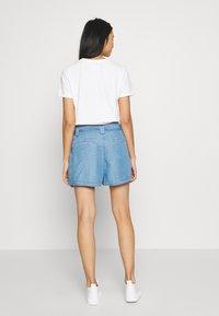 Superdry - DESERT PAPER BAG - Shorts - indigo light - 2