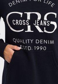 Cross Jeans - Hoodie - navy - 4