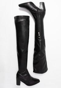 RAID - HETTIE - Overknee laarzen - black - 3