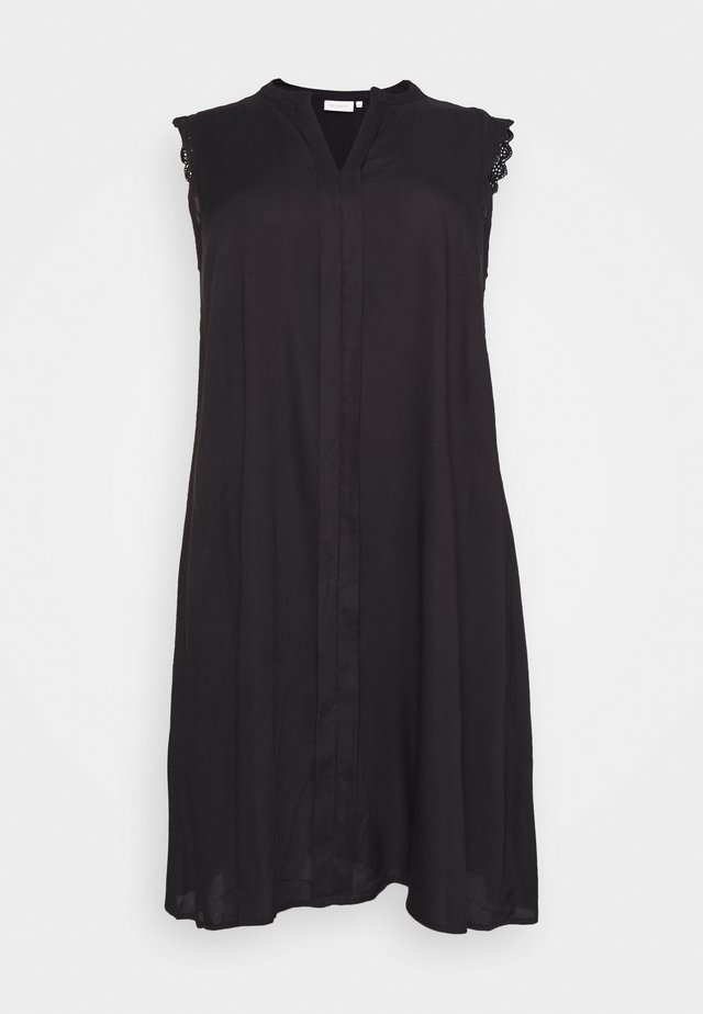 CARMUMI KNEE DRESS - Robe d'été - black